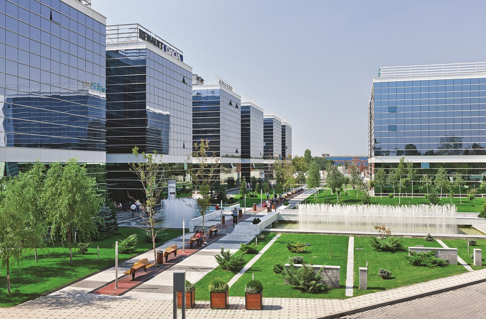 WFMC - West Gate Business Park Project - Romania
